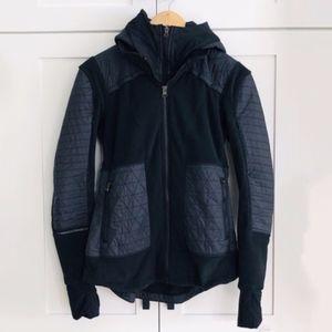 Lululemon Fleecy Keen jacket with detachable hood